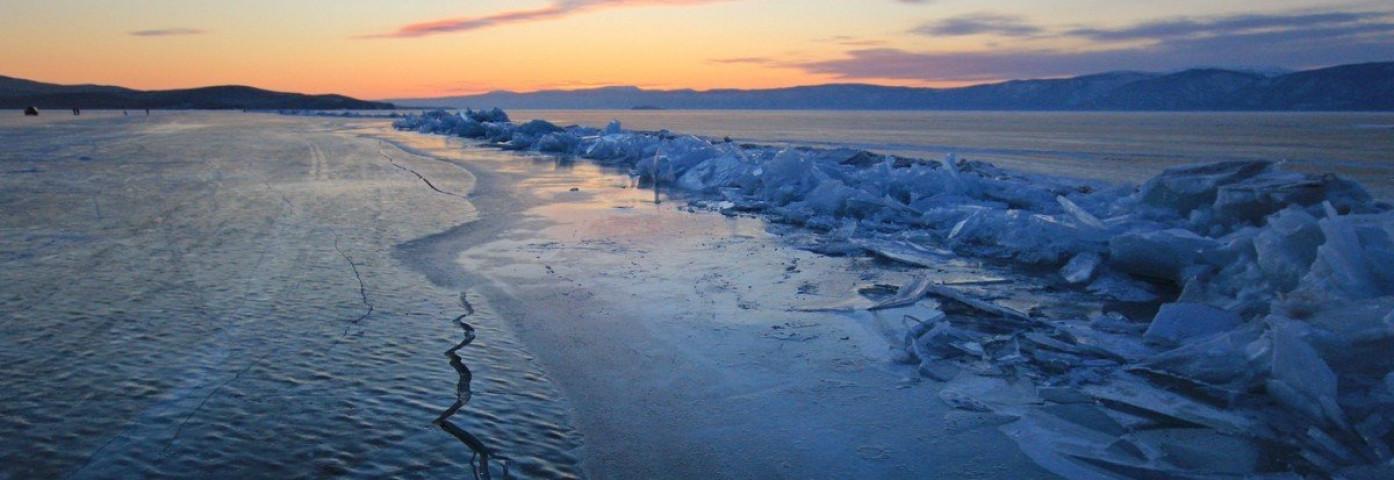 Na zamarzniętym Bajkale