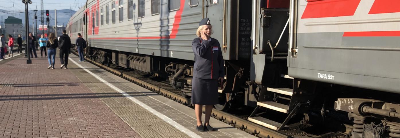 Kolej Transsyberyjska - pociągi i wagony