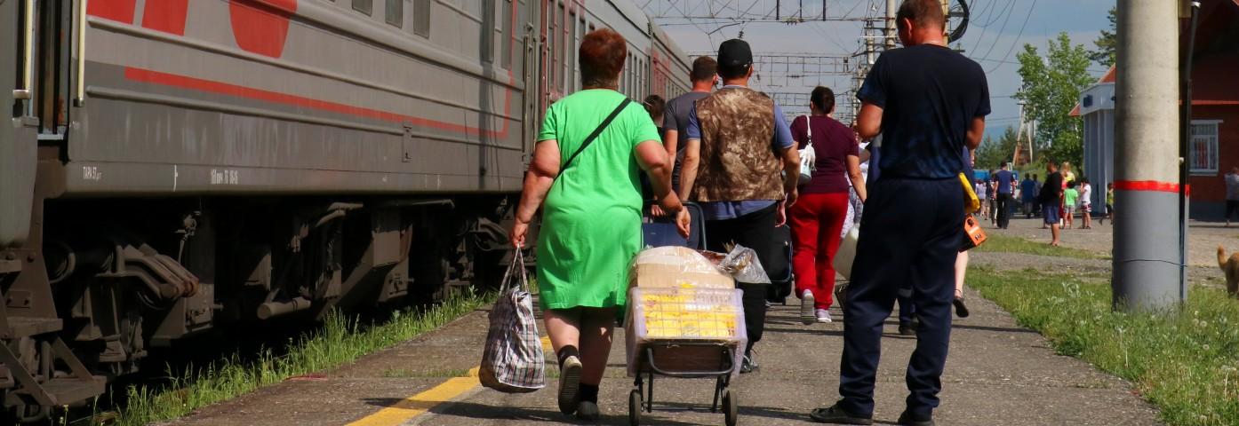 Dojazd na Syberię - warianty