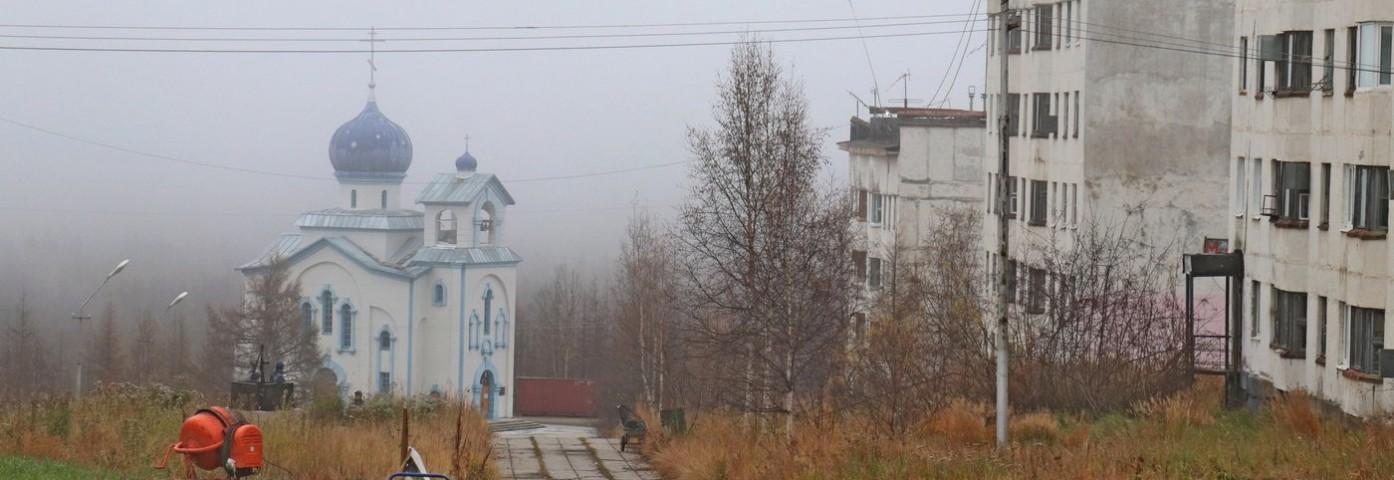 Siniegorie - miasto widmo na Kołymie