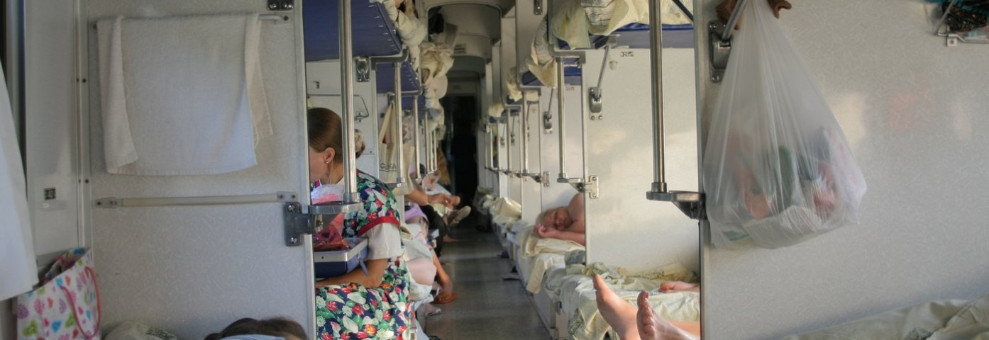 Kolej Transsyberyjska. Jak wygląda życie w pociągu?